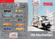 H0 Neuheiten 2012 - Modellbahnstation