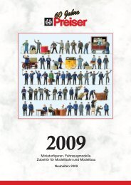 Preiser Neuheiten 2009