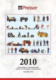 Preiser Neuheiten 2010 - Modellbahnstation