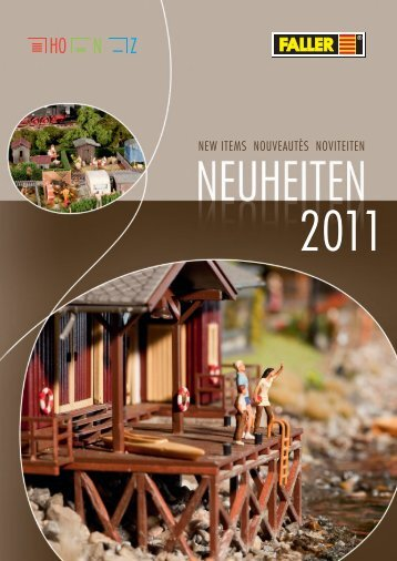 Faller Neuheiten 2011 - Modellbahnstation