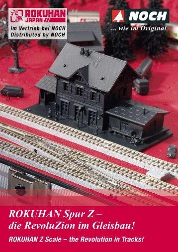 ROKUHAN Spur Z –  die RevoluZion im Gleisbau!