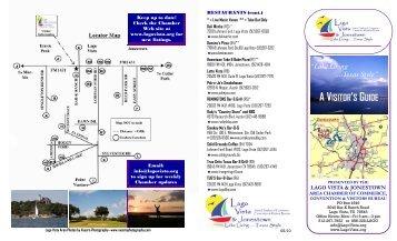 Visitor's Guide PDF - Lago Vista & Jonestown Area Chamber of ...