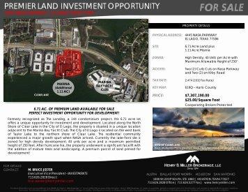 Brochure PDF - Henry S. Miller Real Estate
