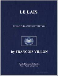 LE LAIS - World eBook Library - World Public Library
