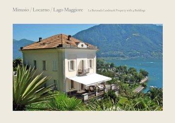 Minusio / Locarno / Lago Maggiore La Baronada Landmark Property ...
