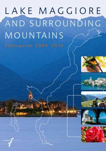 Salesguide Lago Maggiore 2009/UK - Maggioni Tourist Marketing