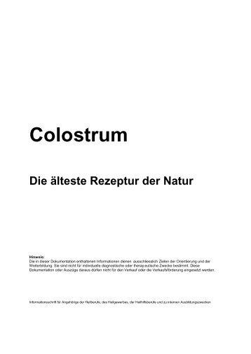 Colostrum - InfoVit