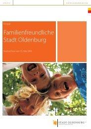 Konzept Familienfreundliche Stadt Oldenburg