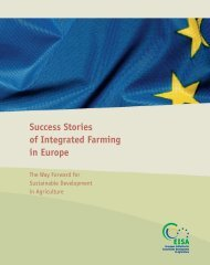 Success Stories of Integrated Farming in Europe - Farre