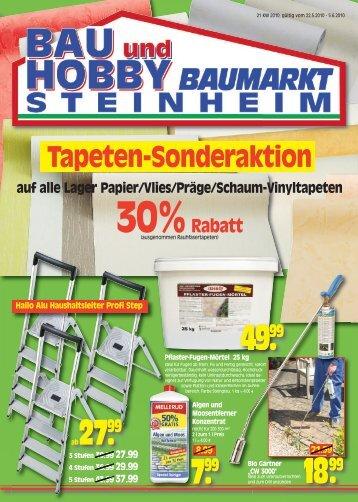 18.99 7.99 49.99 ab27.99 - Bau und Hobby Baumarkt Steinheim