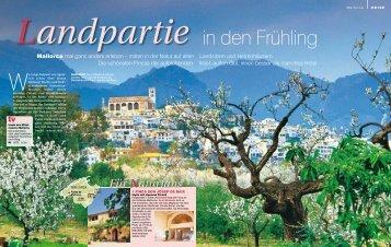 Landpartie in den Frühling - Son Josep de Baix
