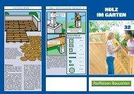Tipps und Tricks Holz im Garten (PDF, 1.5 - Raiffeisen Baucenter