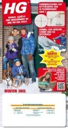 Hier können Sie das aktuelle Winterprospekt von HG