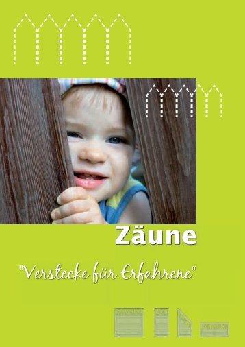 Zäune - Scheiwe-Holz