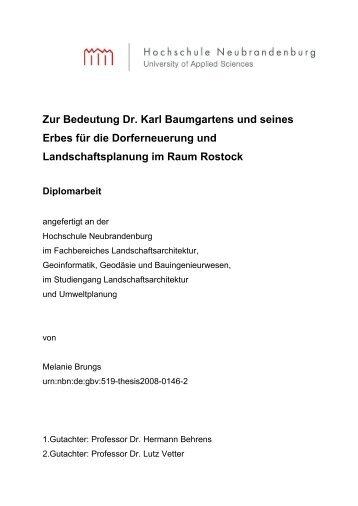 Diplomarbeit - Brungs - 2008 - Hochschule Neubrandenburg