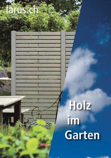 Katalog Larus, Holz im Garten (5.73 MB) - Bürgi.ch AG