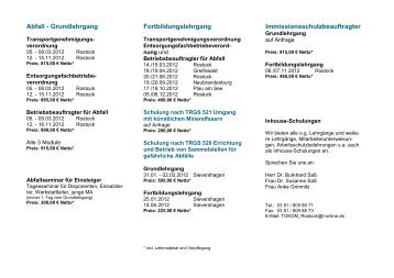 """Flyer """"TOKOM-Lehrgangstermin 2012 [PDF] - TOKOM-Partner ..."""