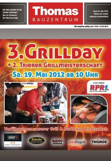 Vorführungen unserer Grill & Barbeque Lieferanten - Thomas ...