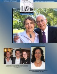 62 Summer 2007 (pdf) - University Center for International Studies ...