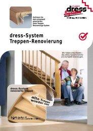 Treppen-Renovierung dress-System