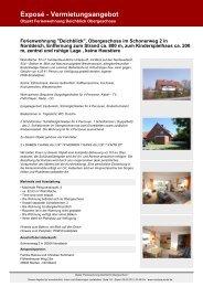 Exposé - Vermietungsangebot - Vermietung Norddeich