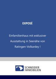 Beispielexposé Einfamilienhaus - Schneider Immobilien