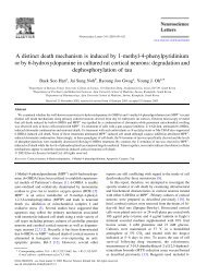 A distinct death mechanism is induced by 1-methyl-4 ...