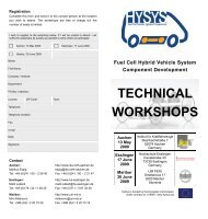 HySys - Fuel Cell Hybrid Vehicle System Component ... - ika