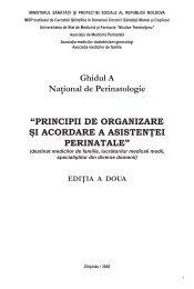 Ghidul A Naţional de Perinatologie - Ministerul Sănătăţii