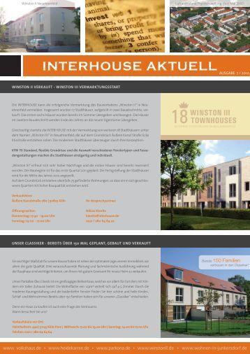INTERHOUSE AKTUELL - Stefan Frey AG