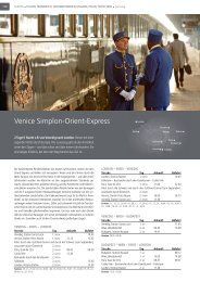 Venice Simplon-Orient-Express - Travelcms.de