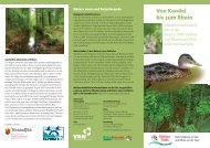 Von Kandel bis zum Rhein - NaturFreunde Deutschlands
