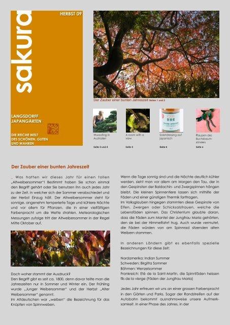 sakura Herbst 2009 als pdf - Langsdorff