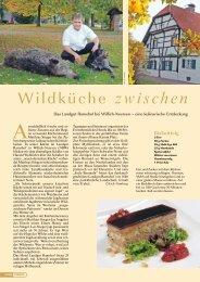 Wildküche zwischen Maas un