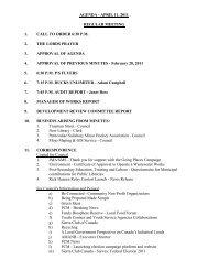 agenda - april 11, 2011 regular meeting 1. call to order 6:30 pm 2 ...