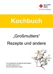 Kochbuch - DRK-Kreisverband Mannheim e.V.