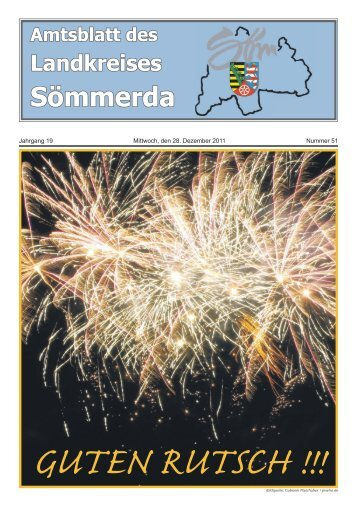 Nummer 51, erschienen am 28. Dezember 2011 - Landkreis ...