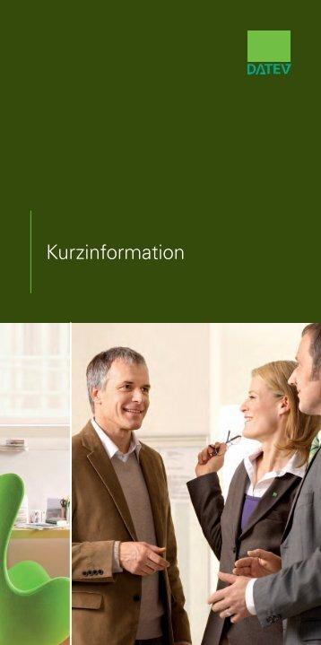 Kurzinformation - DATEV eG