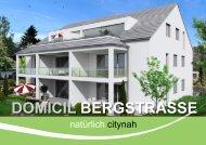 DOMICIL BERGSTRASSE - Koenig Immobilien - Moderne ...