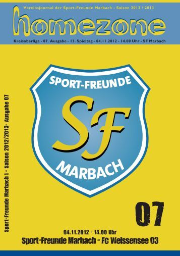 homezone homezone 07 - Sportfreunde Marbach