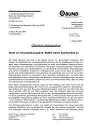 01.08.2007 [PDF] - BUND Kreisgruppe Region Hannover - BUND ...