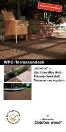 Montageanleitung offenes WPC Terrassendeck - Rettenmeier