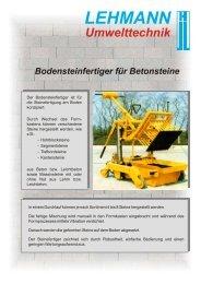 LEHMANN Maschinenbau GmbH