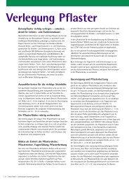 Verlegung Pflaster (PDF-Datei) - Flora Trend