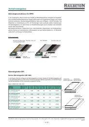 Auszug Technischer Katalog (pdf 2.3 MB) - Railbeton