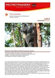 Terra Australis - Weltweitwandern