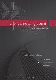 VSH-Broadcast Wireless System WLC1
