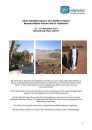 Detailprogramm (pdf) - InSpiration - Reisen der Achtsamkeit