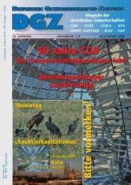 50 Jahre CGB - CGM