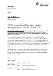 Media Release Phillips named head of global business ...